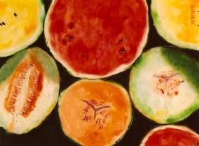 Melons Melons 18x24