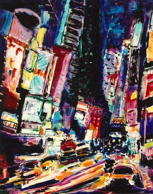 New York City at Night 24x30