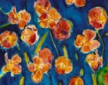 Red Poppies 16x20