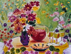 Still Life with Fruit Punch 30x40