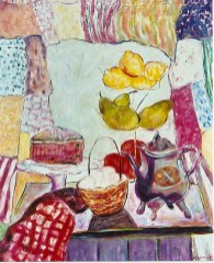 Still Life with Purple Pot, 24x30