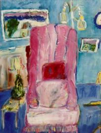 The Pink Chair 18x24