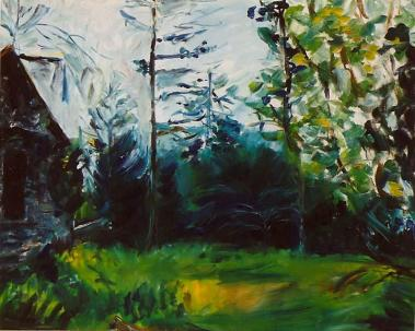 The Stone Cottage 24x30