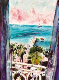 View of Nice, France 18x24