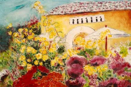 Winery Gardens 24x28