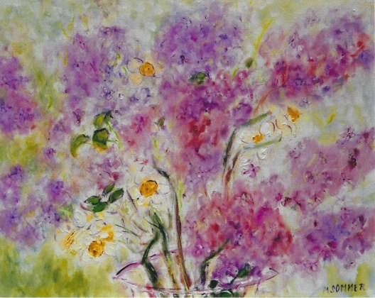 Blooming Lilacs 20x24