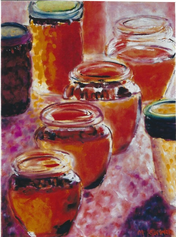 Honey Jars 11x14