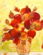 bouquet of pomegranates 24x30