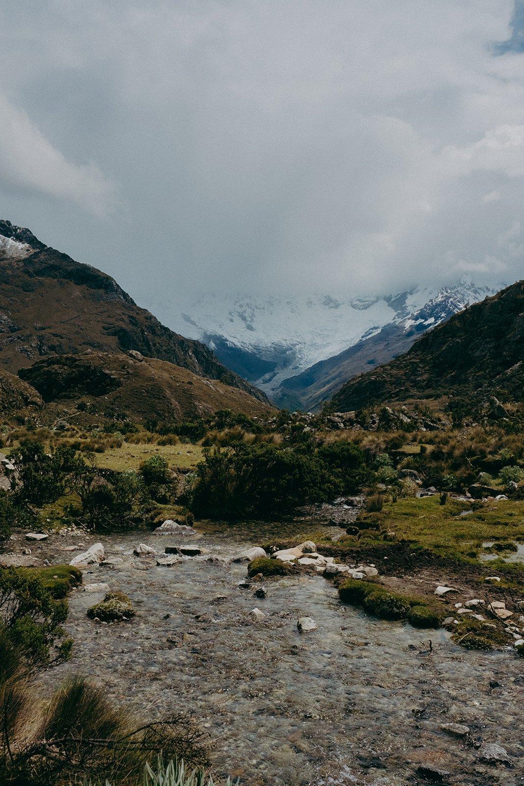 Paisaje Huaraz Peru