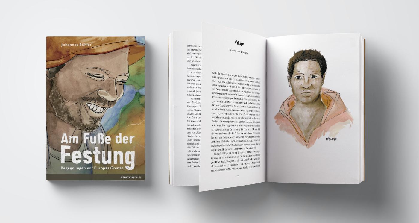 am-fusse-der-festung_cover_illustration_grafik_design_marina_grimme_augsburg