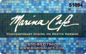 Marina Cafe Gift Card