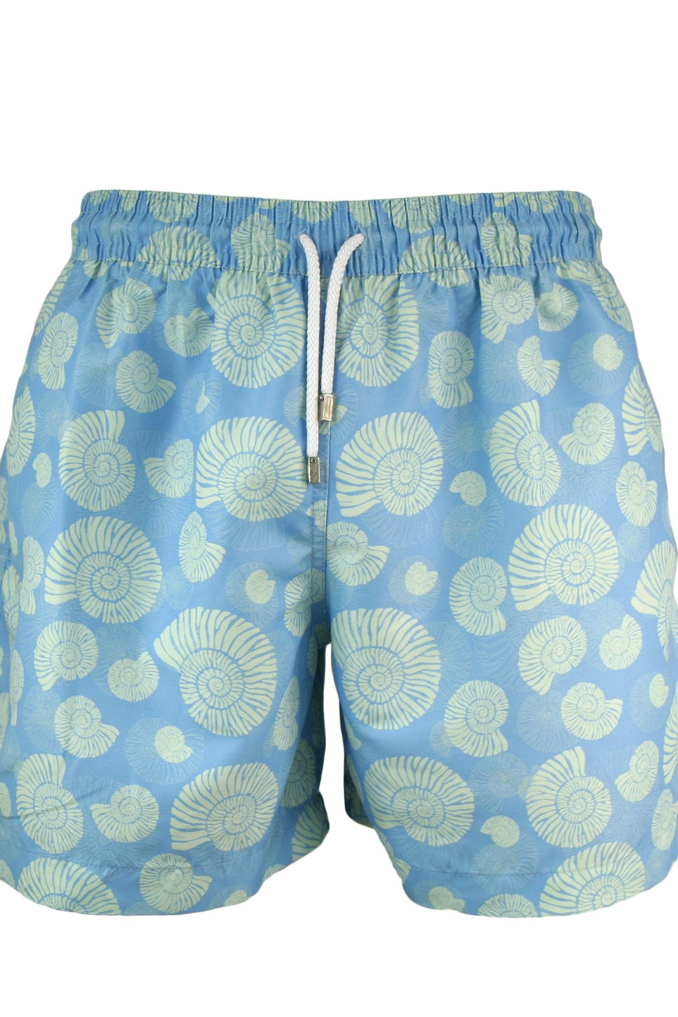 3dcf51cf89 Swim Trunk Men Pablo blue Shells on light Blue – Marina & Carrara