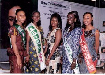 Aicha Rami Keita , Miss Cedea 1997 et N'cho Letitia