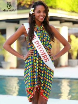 Aissata Dia, Miss Côte d'Ivoire 2013 à miss Monde