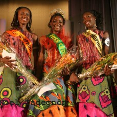 Alima Diomandé Miss CEDEAO 2006