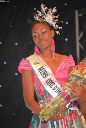 Betty Kouadio Miss Côte d'Ivoire 2011