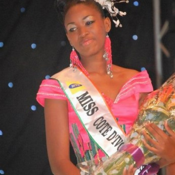 Betty Kouadio Miss Côte d'Ivoire 2011