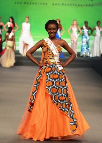 Helène Djouka, miss Côte d'Ivoire 2012 à Miss Monde