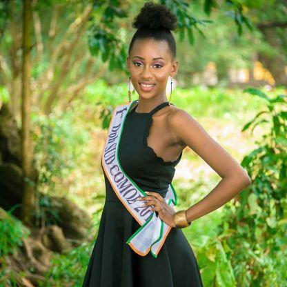 Kouyate Cindy, Première dauphine Sud-Comoé 2017 @facebook
