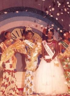 DR/ Nadia Gaëlle Yoboué , miss Côte d'Ivoire 2001