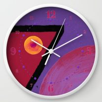 ruby-seven-gxq-wall-clocks