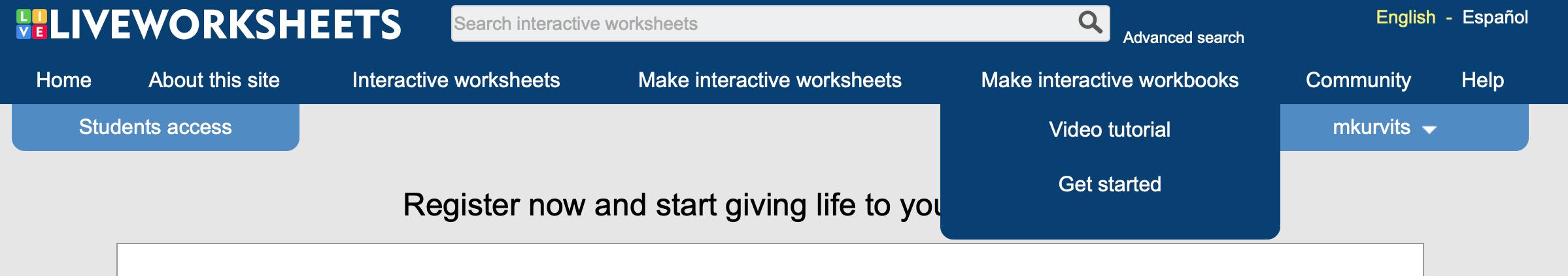 Live Worksheets: превратите свои текстовые файлы и картинки в интерактивные материалы