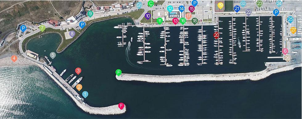 West Istanbul Marina Yerleşim Planı