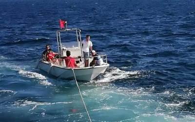 Ambarlı Açıklarında Sürüklenen Tekne West Istanbul Marina'ya Çekildi