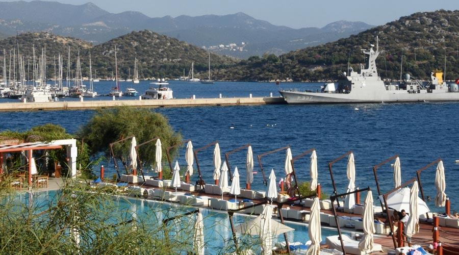 Türk Hücümbotu, Kaş Setur Marina'ya Demirledi