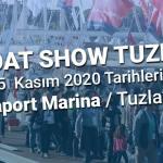 Boat Show Tuzla Deniz Fuarı, 07 – 15 Kasım 2020'de Gerçekleşecek