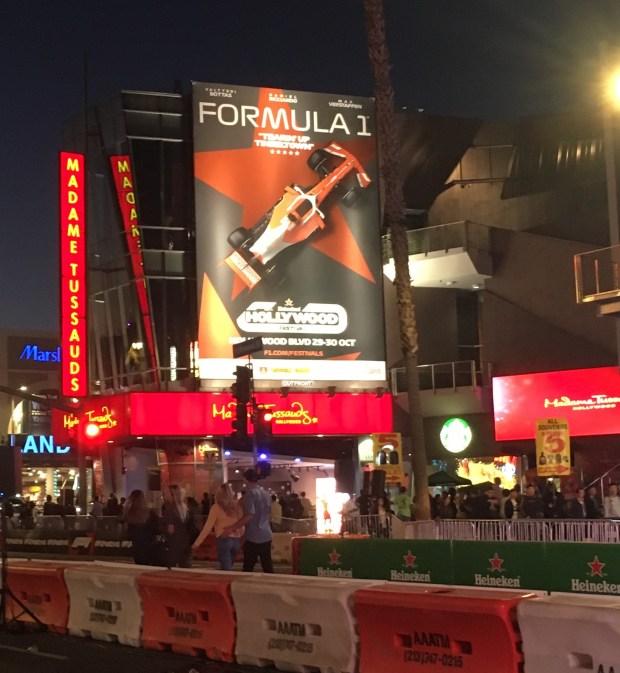 F1 billboard