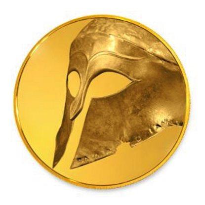 Greek-Helmet-Gold