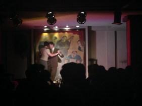 Farewell party: tango show at El Arrabal