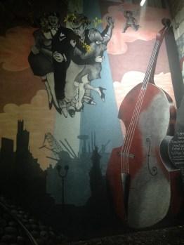 More street art in San Telmo