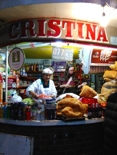 Street food tour: she's been at this 50 years!