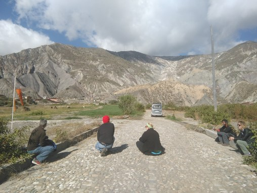 Waiting to paraglide!
