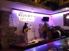 Republica del Pisco, with great live music post a Peru Copa America win