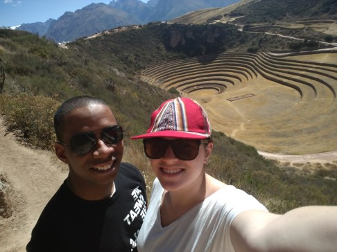 Sean and I at Moray