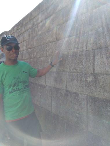 Marvelling at Inca walls