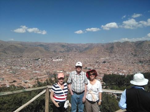 Touring Cusco: Mom, Dad, Galya