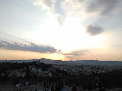 Beautiful Athens sunset