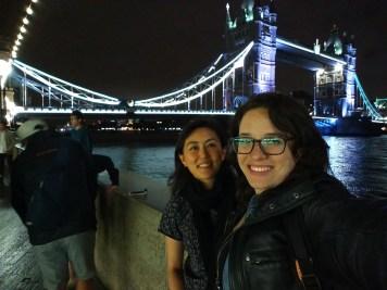 Tower Bridge with Irene!