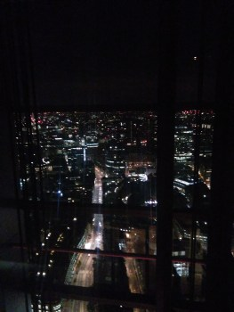 View of London from Duck & Waffle