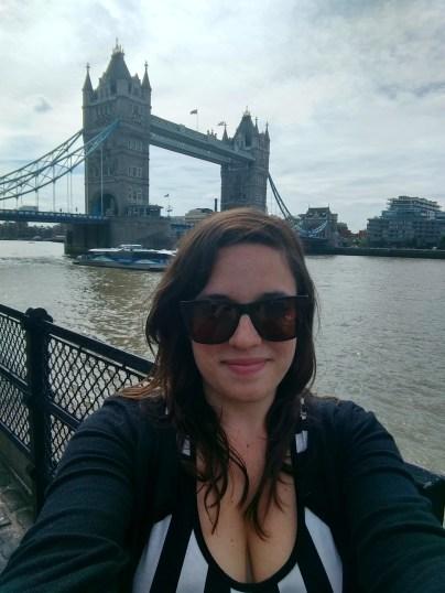 With Tower Bridge
