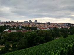 Stunning views of Prague