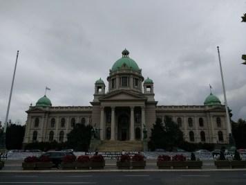 Parliament in Belgrade