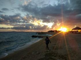 Chasing the Croatia sunset