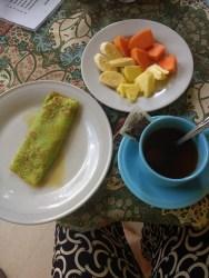 Beautiful Bali breakfast