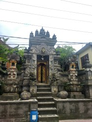Temples abound in Ubud