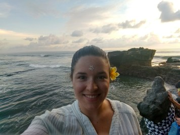 Blessed at Tanah Lot